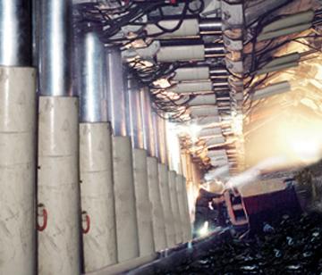 煤矿隧道现场