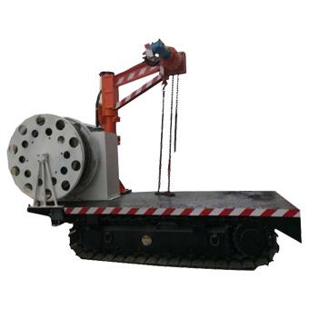 MPCQL-3D型矿用履带式平板车