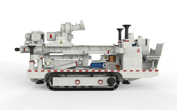 西安煤科院矿用履带式钻车
